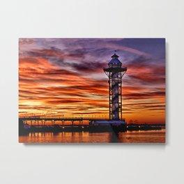 Bicenntenial Tower at Sunset Metal Print