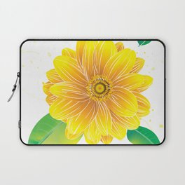 Helianthus - The Color of Vitality, Intelligence and Happiness Laptop Sleeve