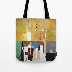 Formality Colorful Modern Art Painting Tote Bag