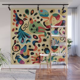 Wobbly Life Wall Mural