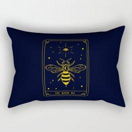 Tarot Card | The Queen Bee Rectangular Pillow