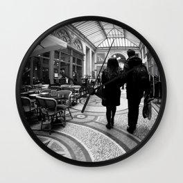 Galerie vivienne Wall Clock