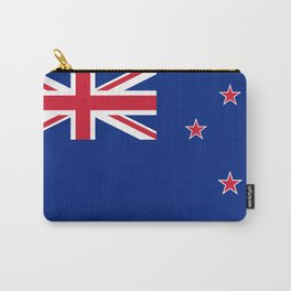 National flag of New Zealand - Authentic version to scale and color Carry-All Pouch