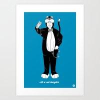Alfred #3 (Cameo One Shot) Art Print