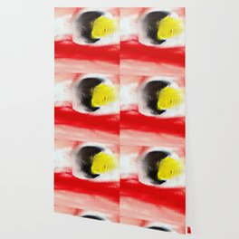 Abstract art. A painting for Tomie Ohtake Wallpaper