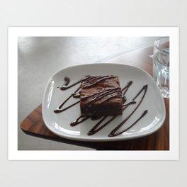 Chocolatey Goodness Art Print