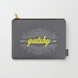 Party Like Gatsby Carry-All Pouch