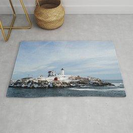 Nubble Lighthouse Maine Rug