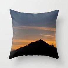 Colours of Dawn Throw Pillow