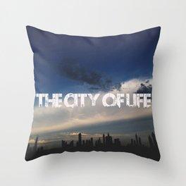 The city of life // #DubaiSeries Throw Pillow