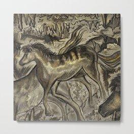 Wild Horse Cavern Metal Print