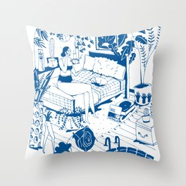 Party II Throw Pillow