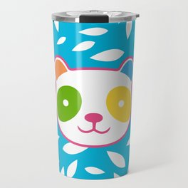 Rainbow Panda Travel Mug
