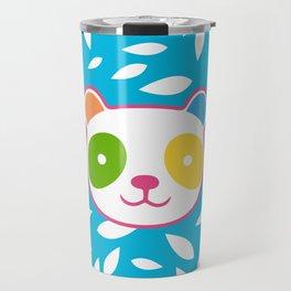 Rainbow Panda Travel Mug