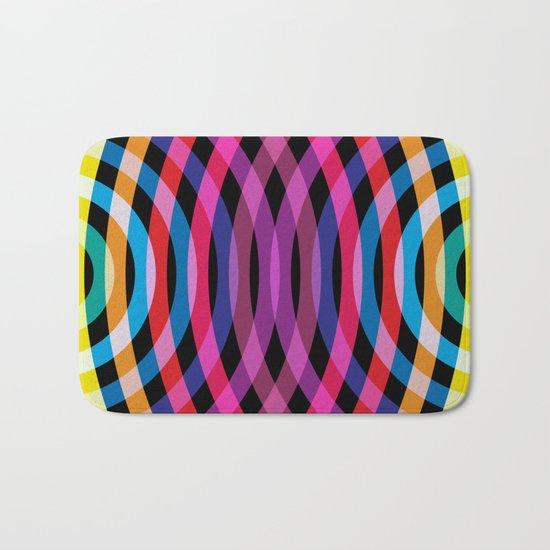 Ripple pattern Bath Mat