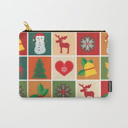 Holiday Cheer Christmas Carry-All Pouch