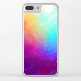 Galaxy Sky Clear iPhone Case