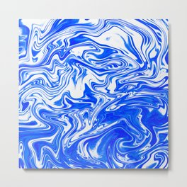 Marbled XX Metal Print