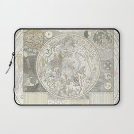 Star map of the Southern Starry Sky Laptop Sleeve