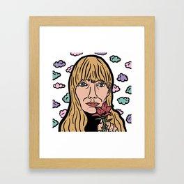 Joni Mitchell Framed Art Print