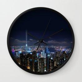 Hong Kong- Victoria Peak Wall Clock