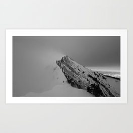 Bridger Bowl Art Print