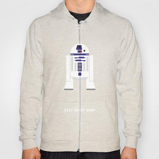 Star Wars Minimalism - R2D2 Hoody