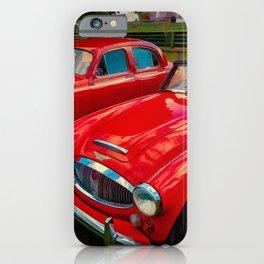 Austin Healey British Sports Car iPhone Case