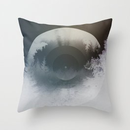 Forest lullaby Throw Pillow