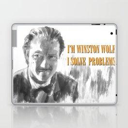 Winston Wolf in Pulp Fiction Laptop & iPad Skin
