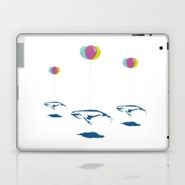 Whale Riders! Laptop & iPad Skin