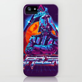 Lord of the 80s iPhone Case