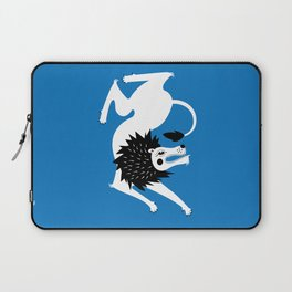 Dancing Beasts: Lion Laptop Sleeve