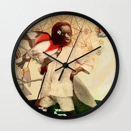 Black jesus Wall Clock