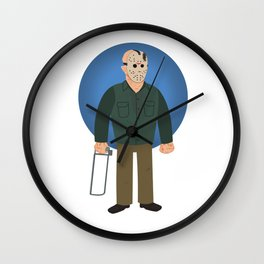 Jason Voorhees Friday the 13th Part 4 Wall Clock
