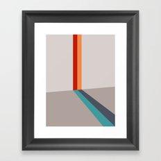 Poligonal 178 Framed Art Print