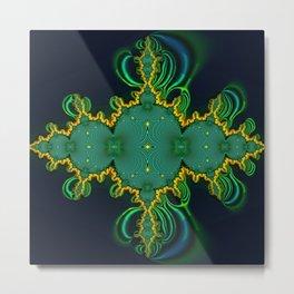 Emerald Art Metal Print
