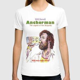 Anchorman: The Legend of Ron Burgundy T-shirt