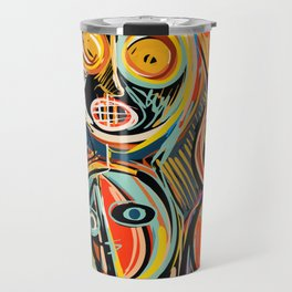 Anima Mia Street Art Graffiti Art Brut Travel Mug