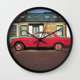 Red Merc, Dublin. Wall Clock