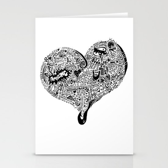 Heartfull Stationery Cards