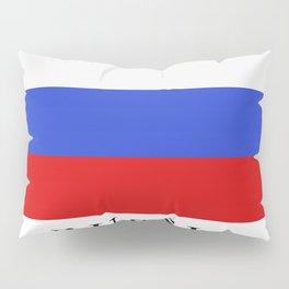 Russia flag Pillow Sham