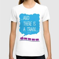 train T-shirts featuring TRAIN by Alberto Lamote de Grignon
