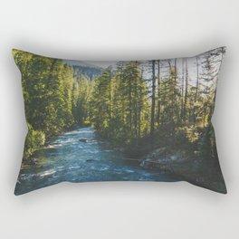 Morning at Agnes Creek - Pacific Crest Trail, Washington Rectangular Pillow
