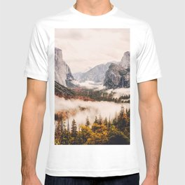 Amazing Yosemite California Forest Waterfall Canyon T-shirt