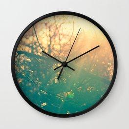 Radiates Light Wall Clock