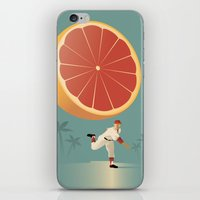 league iPhone & iPod Skins featuring Grapefruit League by John W. Tomac