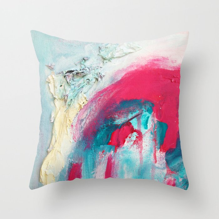 Untitled (Carrying On) Throw Pillow