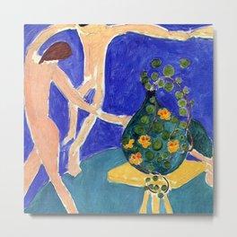 Henri Matisse Nasturtiums with Dance Metal Print