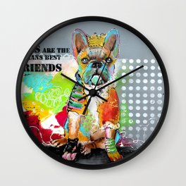 Dogs... Wall Clock